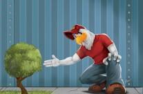 AZORIN planta un arbol