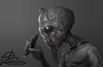 Alien Artist