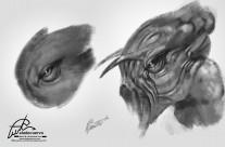 Creature Sketch 1-2