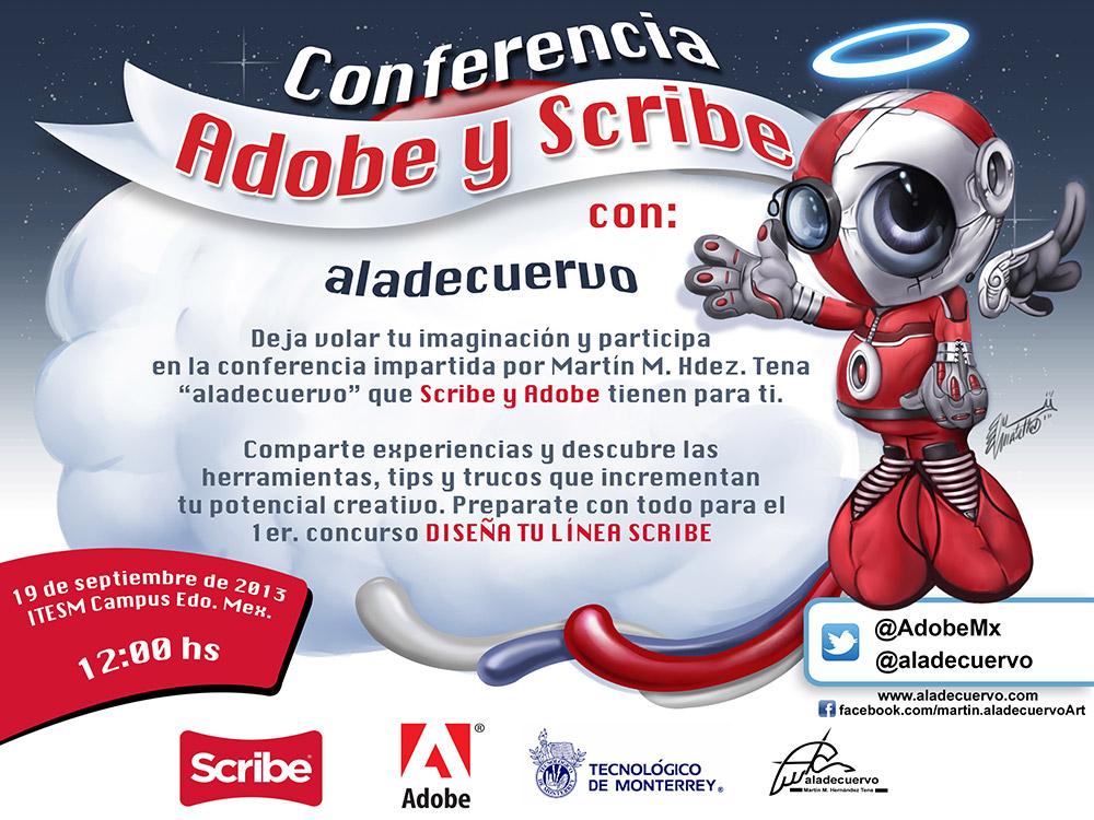 Conferencia Adobe-Scribe