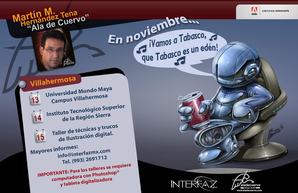 Noviembre nos vemos en Tabasco!