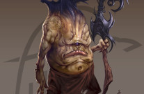 Gork Character design