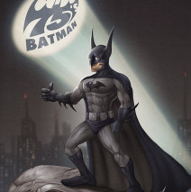 Happy 75′s Batman