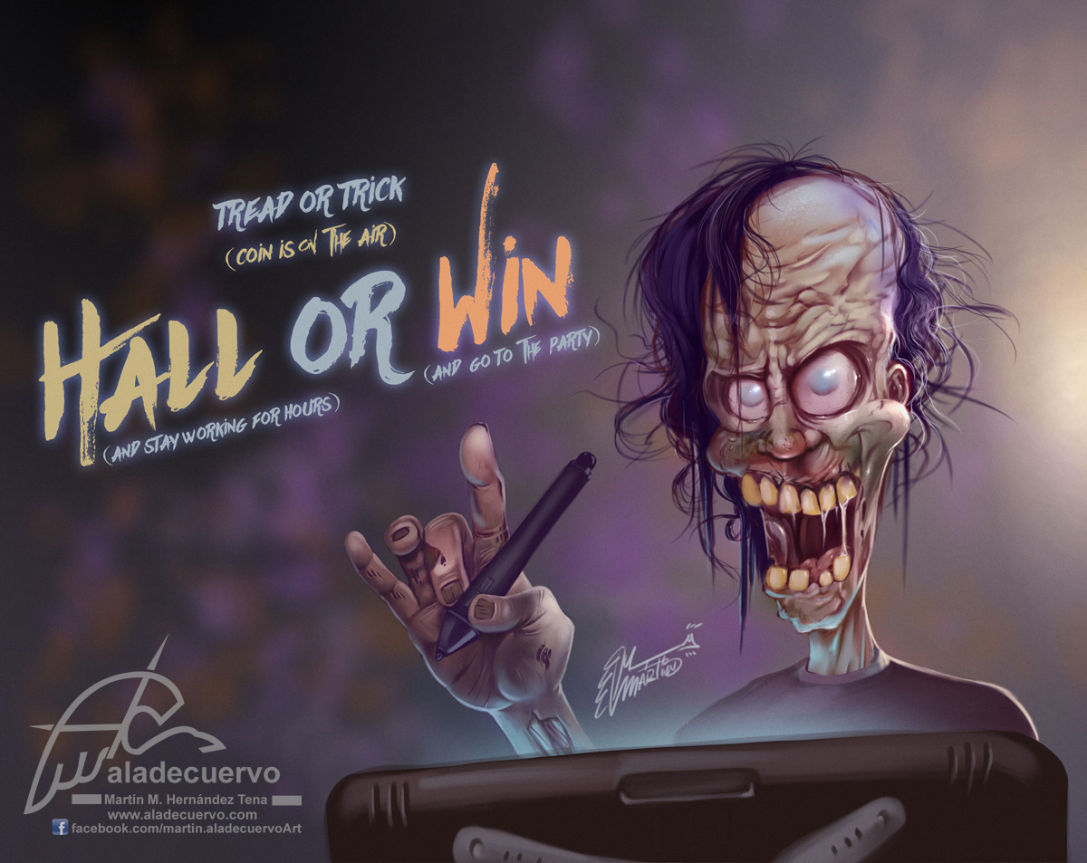 Hall or Win (volado de Halloween)