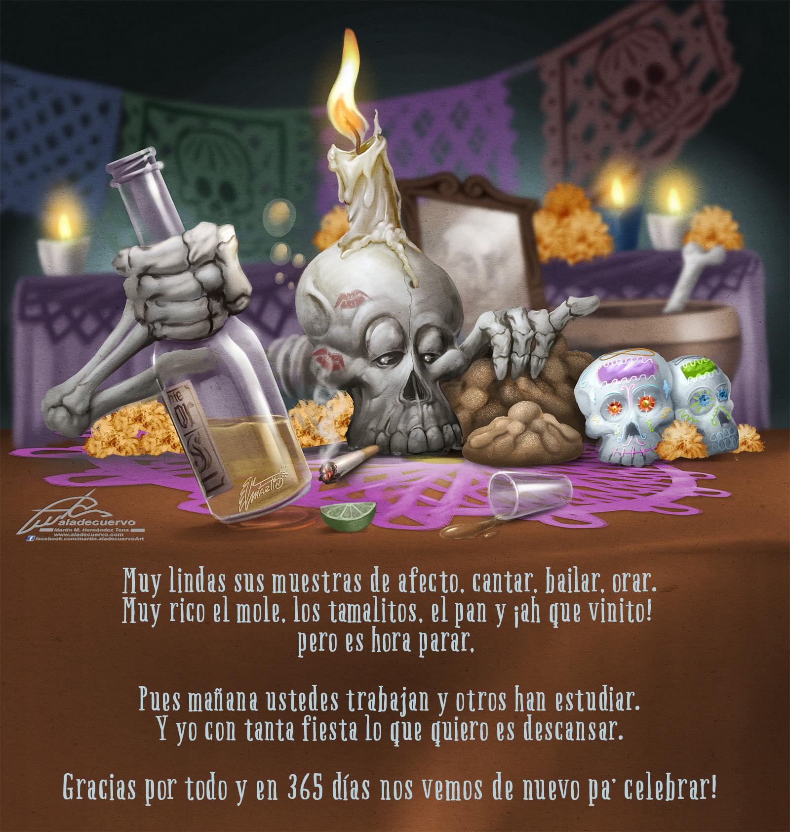 Adios Dia de Muertos