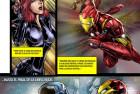 Diseñando Heroes Civil War page