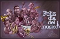 Feliz dia del musico