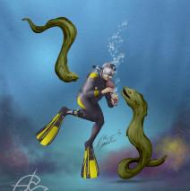 Buzo encantador de serpientes