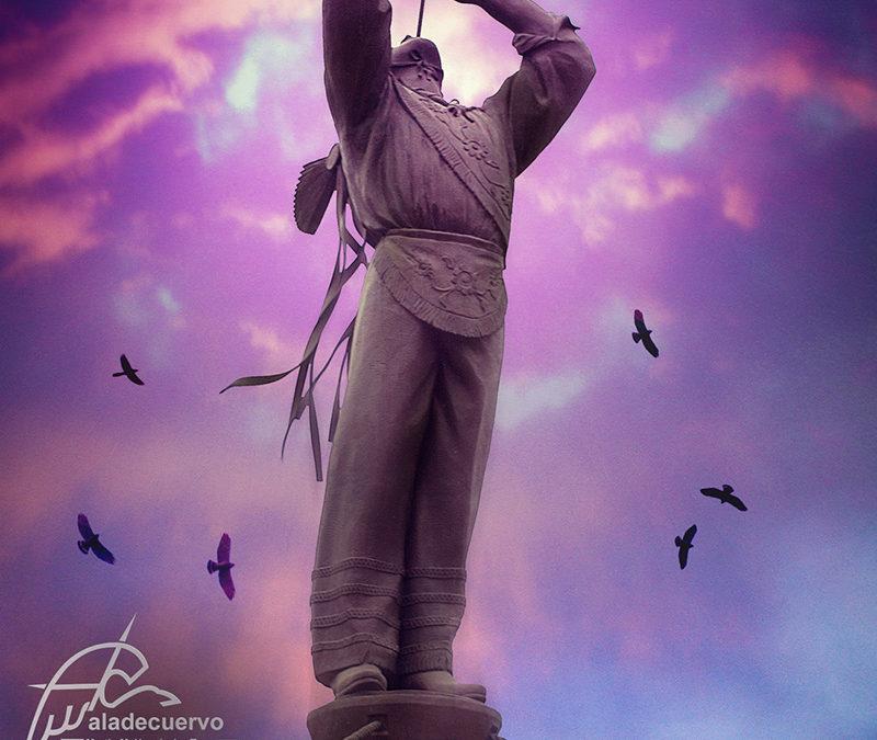 Homenaje a los voladores de Papantla