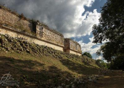 Palacio del gobernador (posterior) Uxmal