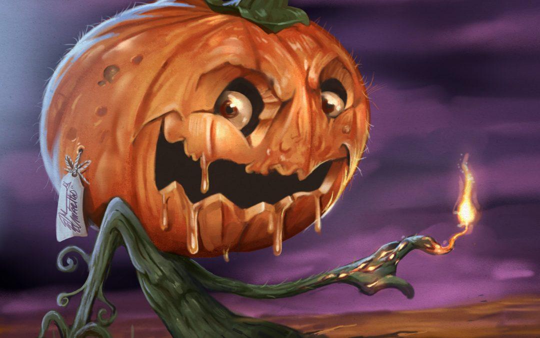 Pumpkin illustration for challenge