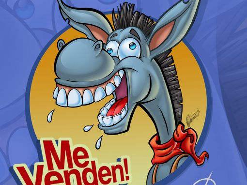 El burrito loco. The crazy donkey